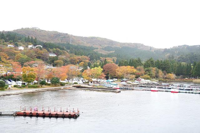 Travel Hakone Japan: Lake Ashi boat ride