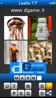 PACCHETTO 5 Soluzioni Trova la Parola - Foto Quiz con Immagini e Parole soluzione livello 17