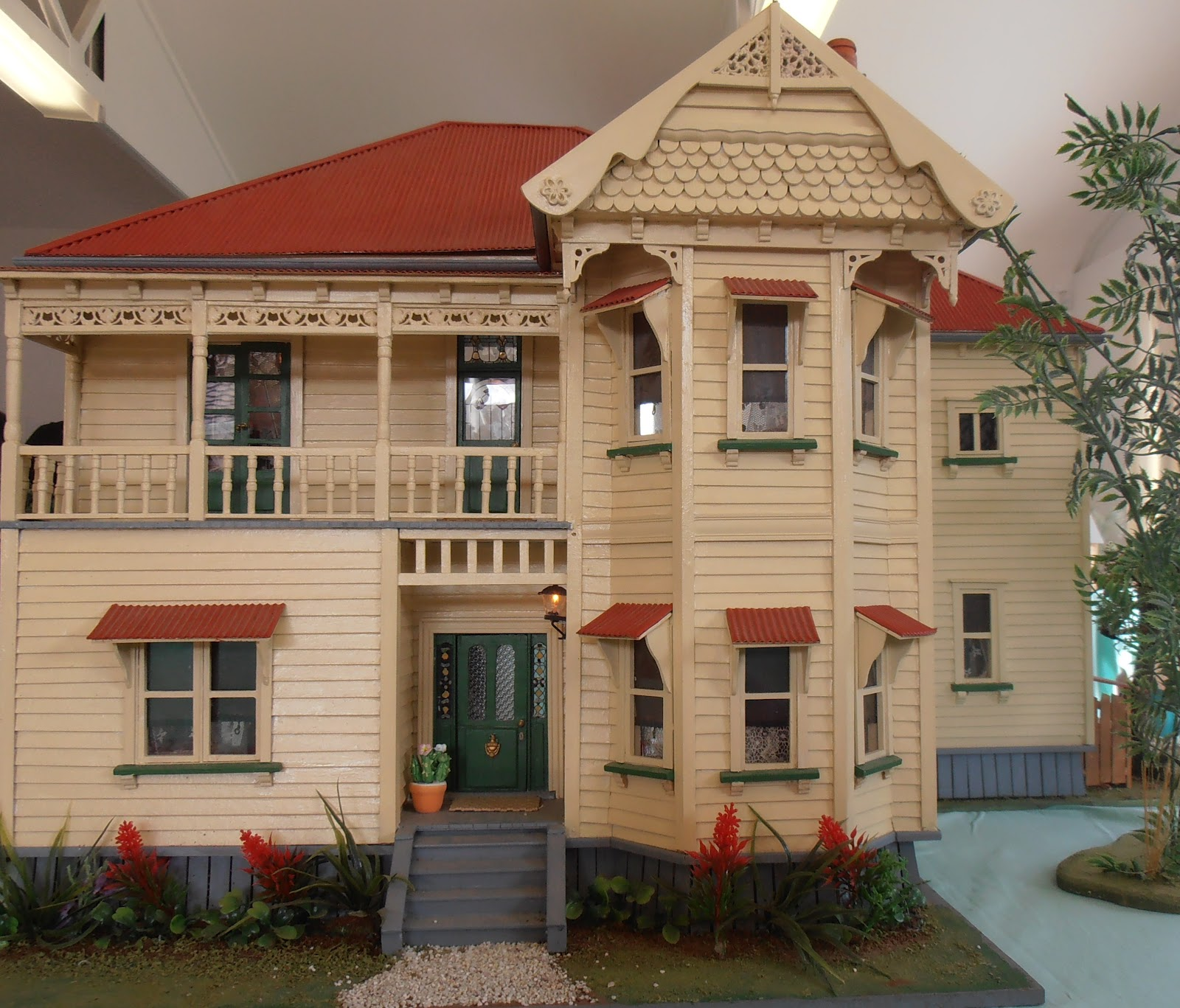 Kitset Doll House Christmas Doll House Diy Kit Set X Mas