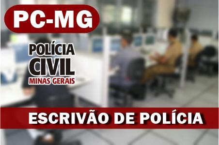 Concurso escrivão de polícia PC MG: definida BANCA organozadora