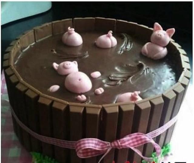 Thân gửi fan cuồng của Socola: bể bùn với những chú lợn đáng yêu dành cho cô nàng my nhon