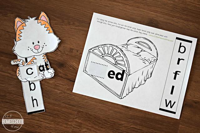 kindergarten-reading-word-families-free-printable