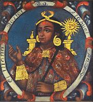 La momia del rey inca (Atahualpa)