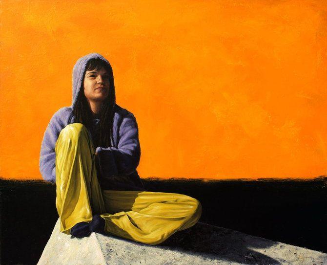 DeAngel 1966 | Spanish Hyperrealist Figurative painter