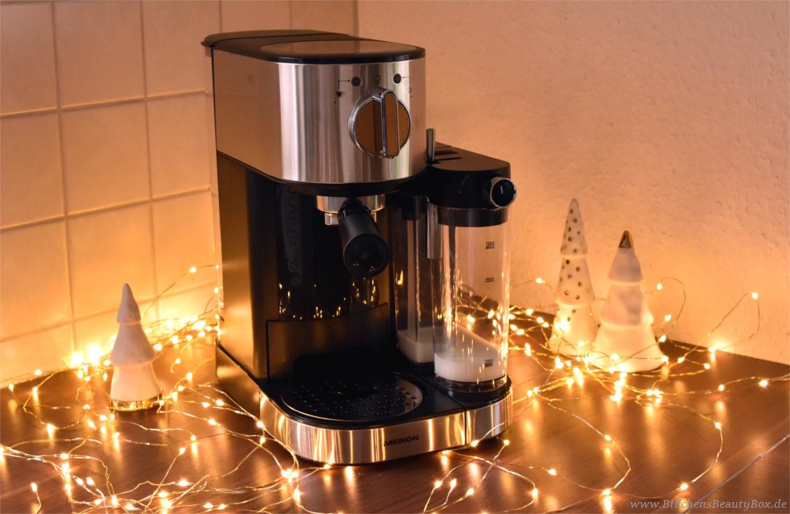 Adventskalender Gewinnspiel mit MEDION - Espresso Maschine