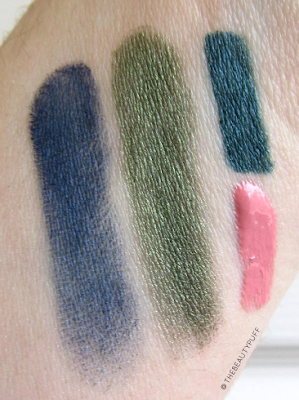 beauty addicts cosmetics swatches - the beauty puff