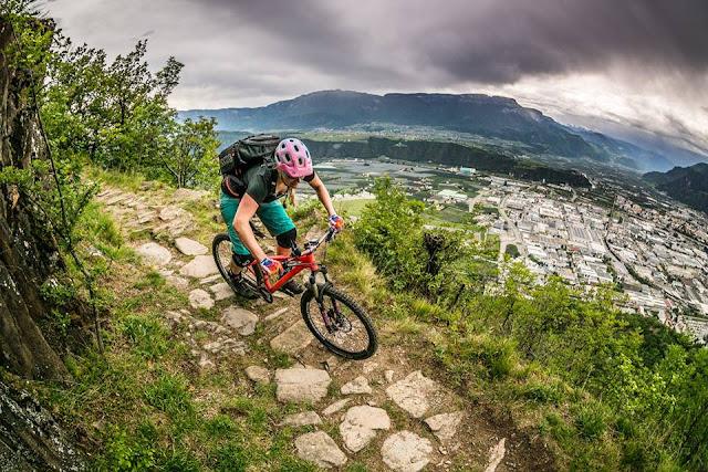 Kohlern Trail Nr. 3 Mountainbiketour Bozen