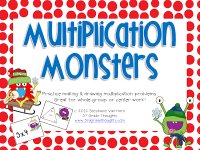 Reviewing Multiplication With Our Favorite Monsters - 3rd Grade ...