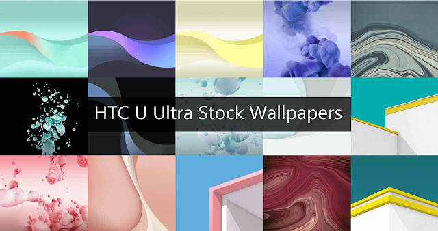 Download: HTC U Ultra Stock Wallpapers