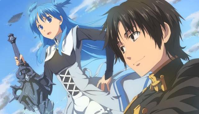 Daftar Rekomendasi Anime Fantasy Romance Terbaik - Shuumatsu Nani Shitemasu ka? Isogashii desu ka? Sukutte Moratte Ii desu ka? (SukaSuka/World End)