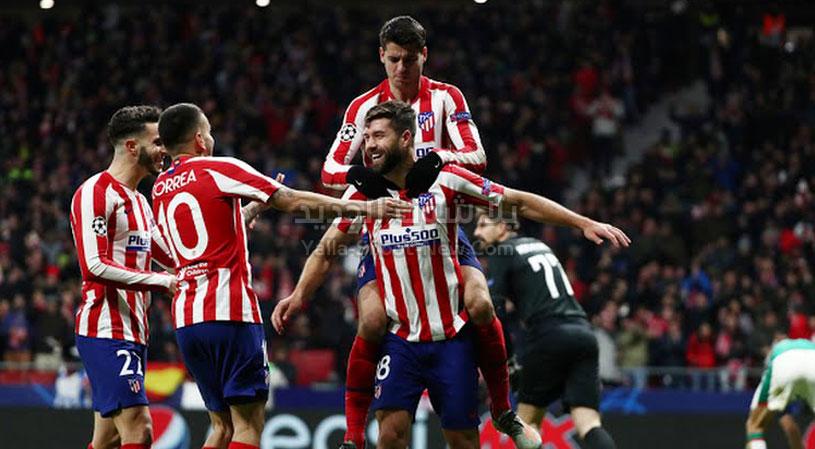 اتليتكو مدريد يرافق اليوفي لدور ال 16 من دوري أبطال أوروبا بعد الفوز على فريق لوكوموتيف موسكو