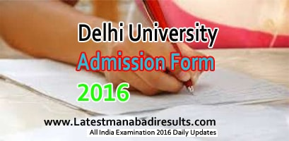 DU UG Admission Form 2016 Apply Online, Delhi University OMR Pre-Admission Form 2016-17, Delhi University Colleges List 2016, du.ac.in Admission Process 2016