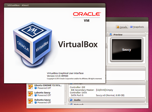 VirtualBox 4.3 no Ubuntu