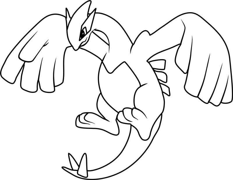 Xerneas Kleurplaat Dibujos De Lugia Pokemon Para Colorear Pintar E Imprimir