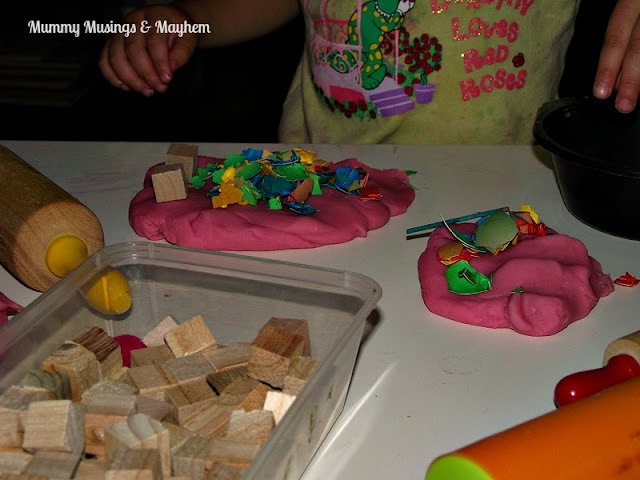 Toddler sensory fine motor fun