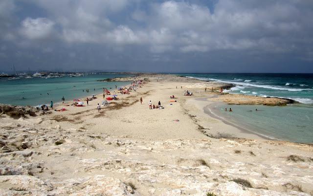 Punta des Trucadors en Formentera. Parque natural de las Salinas de Ibiza y Formentera