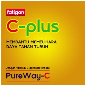 Fatigon C-Plus, Membantu Memelihara Daya Tahan Tubuh