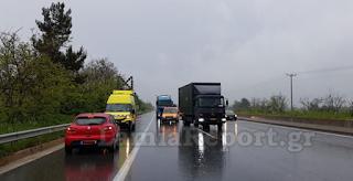 Αυτοκίνητο ταξίδεψε 13χλμ. ανάποδα στην εθνική οδό Αθηνών-Λαμίας