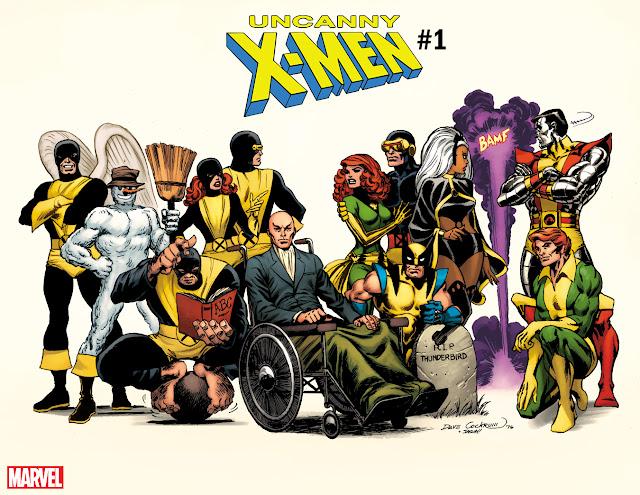 UNCANNY X-MEN #1, marvel