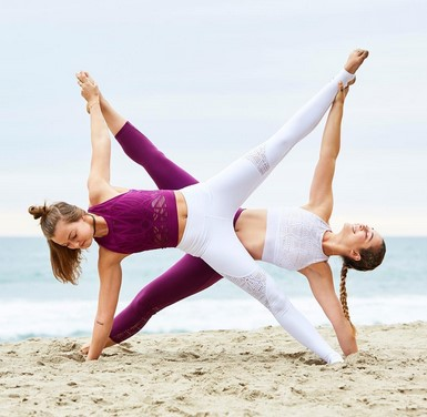 2 person yoga poses easy can be fun for everyone