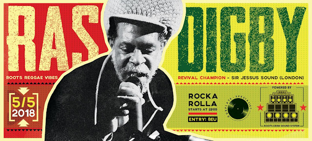 Ras Digby (UK) on Roots Crew Sound