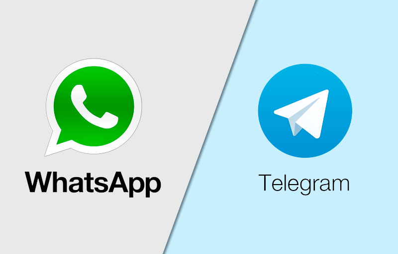 O WhatsApp passou a bloquear links relacionados ao Telegram