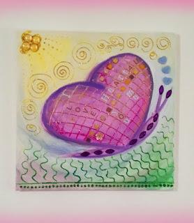 Bild für ein Kinderzimmer: Schmetterling