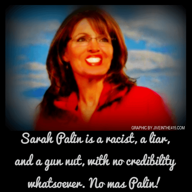 Sarah Palin sucks.