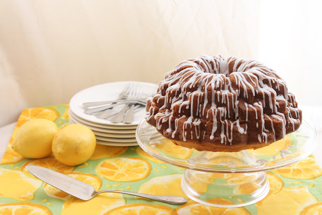 Food Lust People Love: For lemon lovers everywhere, this lemon filled lemon Bundt will fulfill all of your sweet and sour lemon dreams, with sharp fresh lemon curd, zesty lemon cake and lemon drizzle.