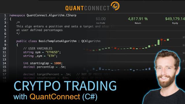 Crypto Trading with QuantConnect (C#)