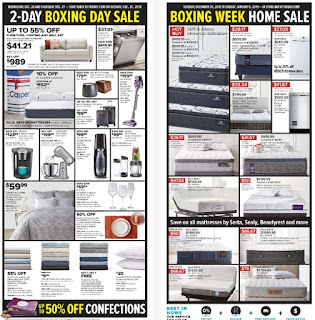 The Bay Flyer 2-Day Boxing Day Sale December 25 –  27, 2018