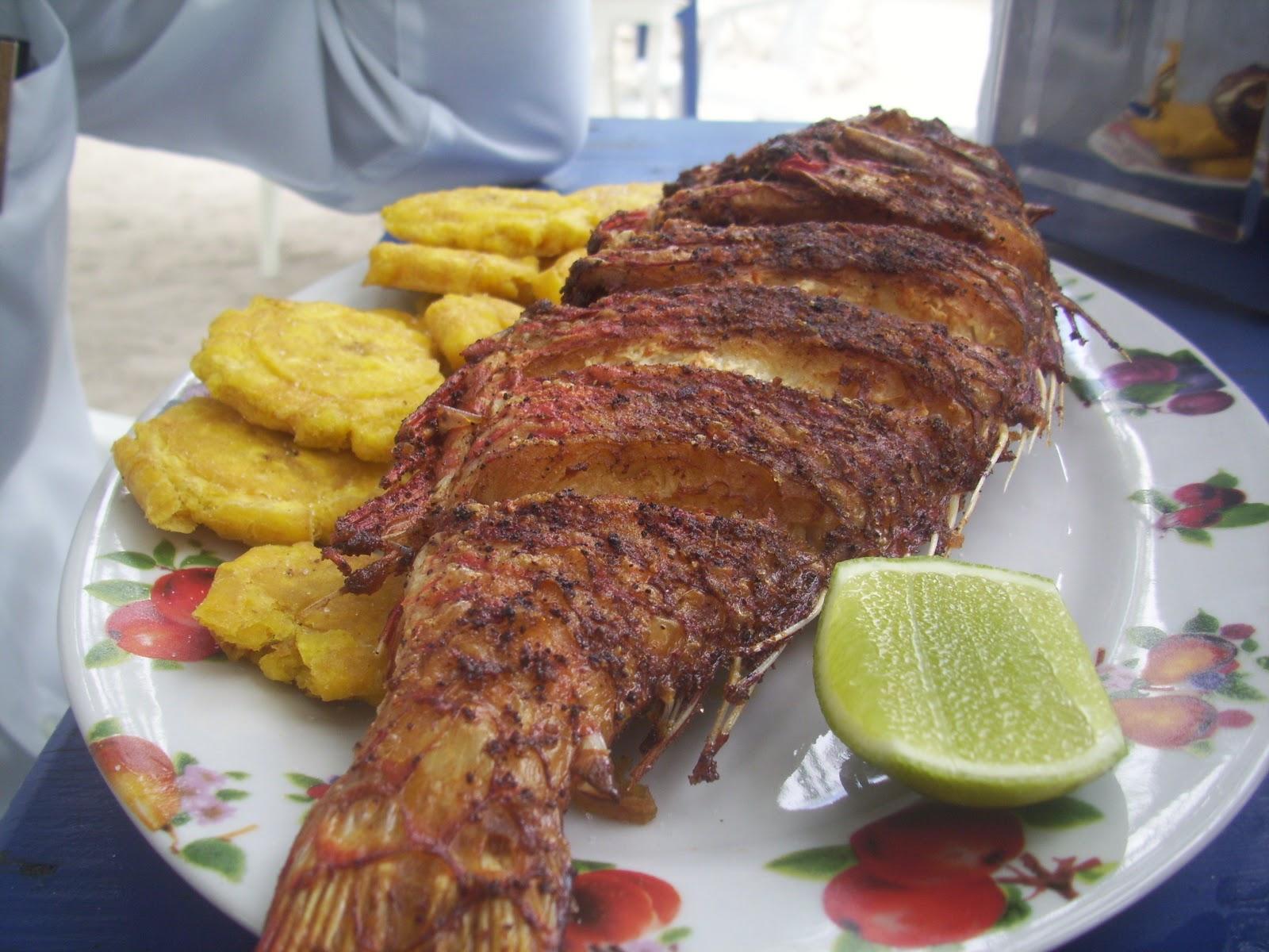 Cocina casera rep blica dominicana pescado frito por for Cocina dominicana