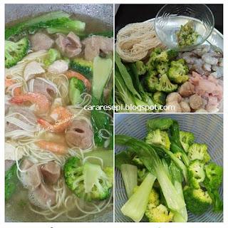 Resepi Mee Suah Sup Simple
