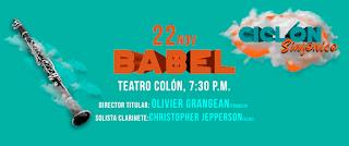 Concierto BABEL Sinfonica Nacional