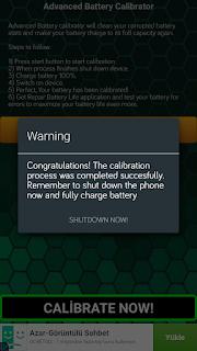 Android-batarya-kalibrasyonu