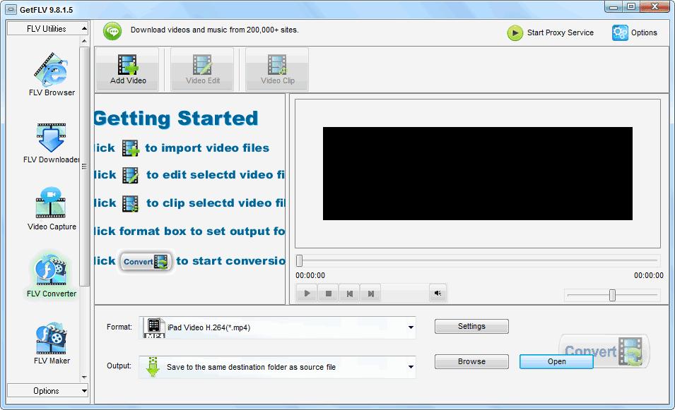 Download GetFLV Pro