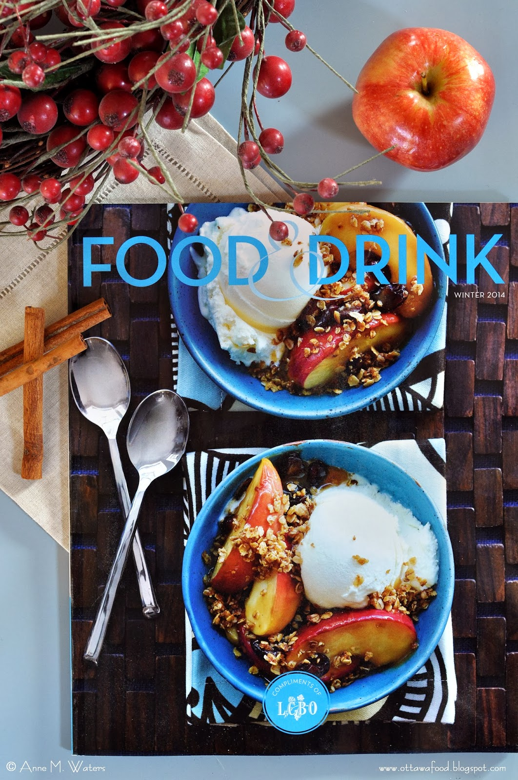 drink lcbo food magazine winter issue music