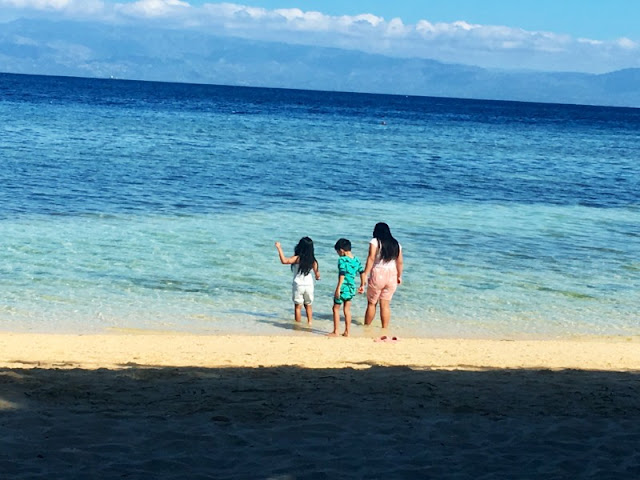 Lambug Beach is a white sand beach in south Cebu in the town of Badian