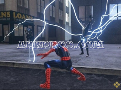 Game Spider Man - Web Of Shadows PPSSPP ISO Save Data Ukuran Kecil For Android