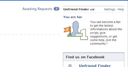 광고 추가됨 unfriend finder 365.