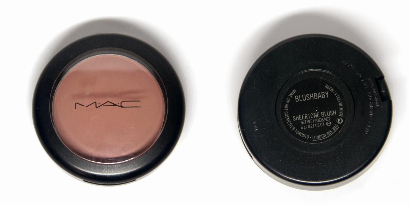 The Pretty Lil Things Blog: REVIEW: MAC's Sheertone Blush ...