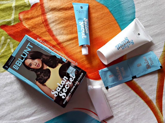 BBLUNT Salon Secrets-The New! mini hair pack Review