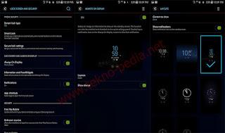 Cara Mengaktifkan Always on Display ( AOD ) di Semua Samsung Android Nougat