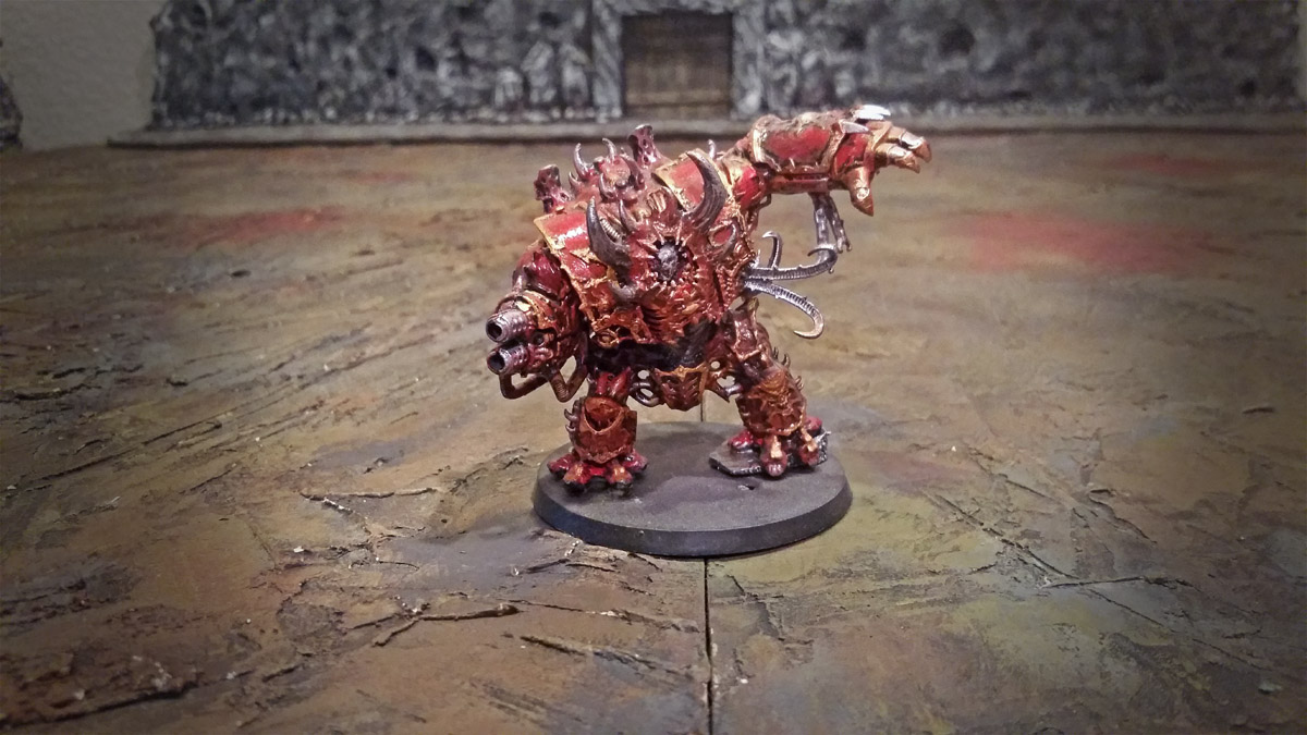 chaos space marines helbrute