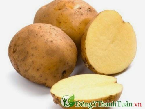 Cách chữa bệnh đau dạ dày dân gian từ khoai tây