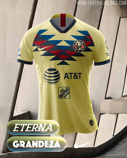 online store cbd80 5fbc2 Nike Club America 19-20 Home & Away Kits Revealed - Footy ...