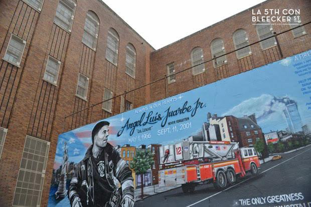 excursión de contrastes por Nueva York grafiti Angel Luis