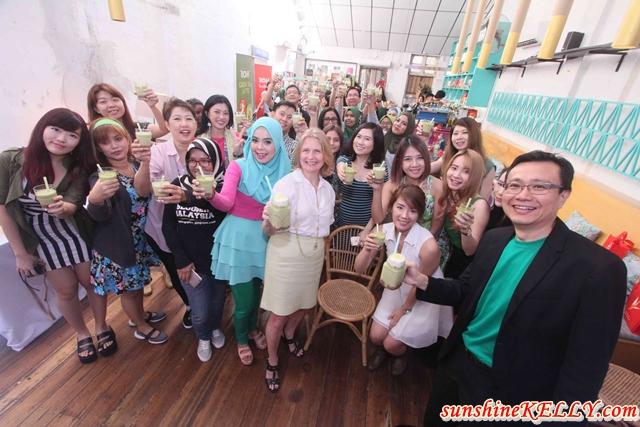 BOH Green Tea Latte Party