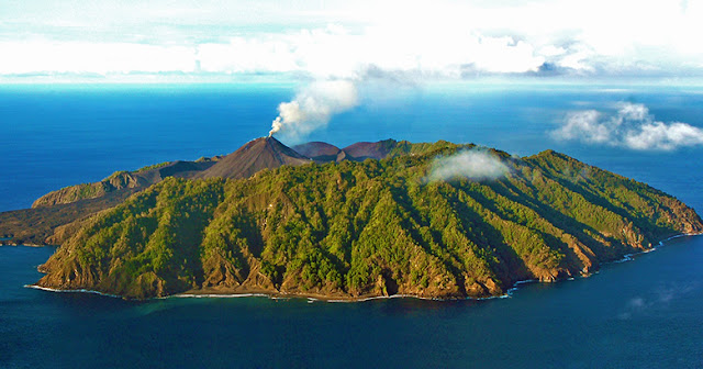 Barren Island — A secluded paradise in the Andaman Islands