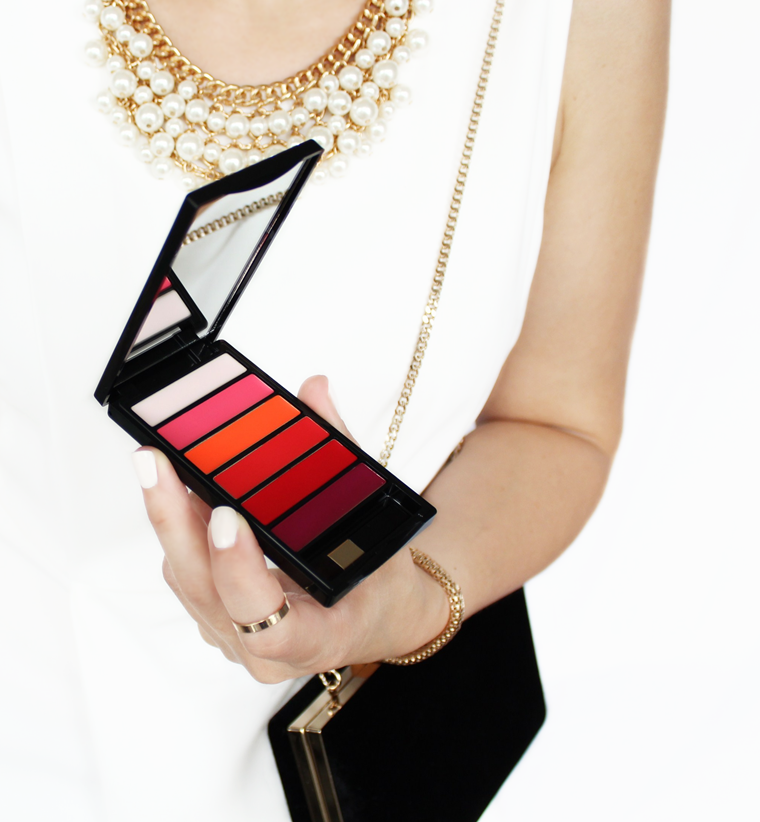 L`Oreal Paris Color Riche La Palette Matte Paleta do ust kolory swatche blog